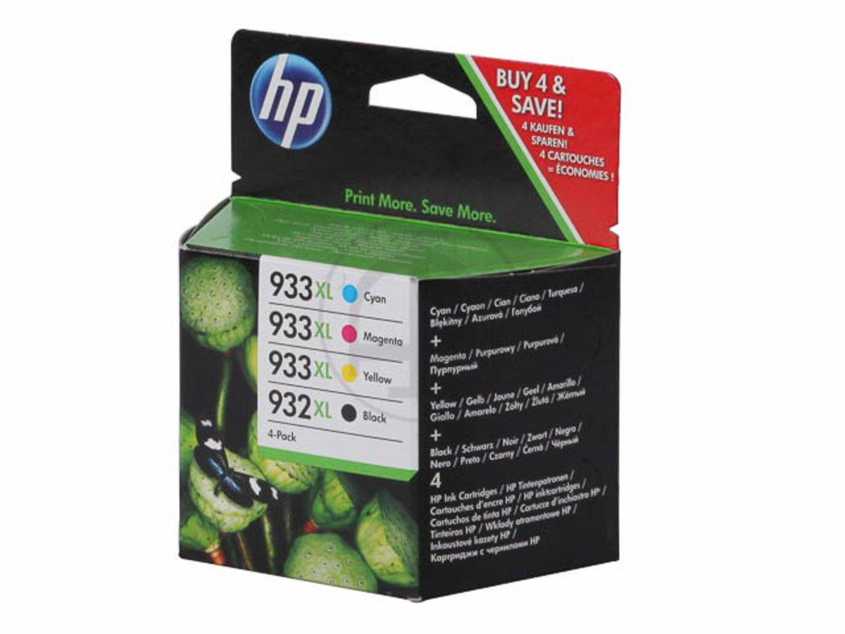 HP-original-HP-Hewlett-Packard-OfficeJet-7510-WF-932XL933XL-C-2-P-42-AE-Tintenpatrone-MultiPack-schwarz-cyan-magenta-gelb