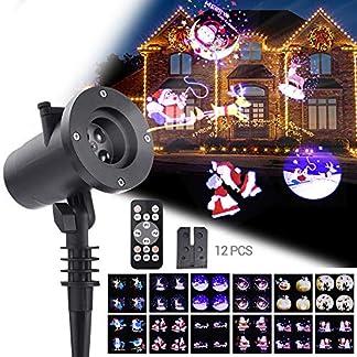 LED-ProjektionslampeWOLFWILL-Weihnachtsprojektor-Lichter-mit-Fernbedienung-und-TimerWasserdicht-Lichteffekt-LED-Dekolampe-Stimmungsbeleuchtung-fr-Weihnachten-Party-Geburstag-Hochzeit