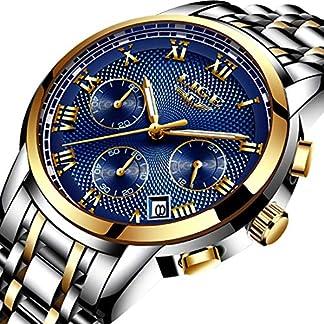 Herren-Uhren-Chronograph-Analog-Quarzuhr-Mnner-Wasserdicht-Freizeit-Sport-Mode-Armbanduhr-Datum-Kalender-Edelstahluhr