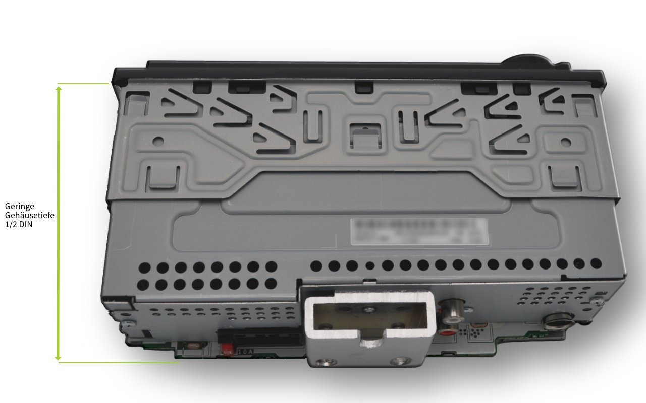 Pioneer-Autoradio-USB-RDS-Tuner-12-DIN-mit-AUX-In-und-USB