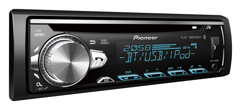 Pioneer-DEH-S5000BT-1DIN-Autoradio-CD-Tuner-mit-RDS-Bluetooth-MP3-USB-AUX-Eingang-Bluetooth-Freisprecheinrichtung-Multi-Color-Tastenbeleuchtung-ARC-Karaoke-Mic-Mixing-Spotify