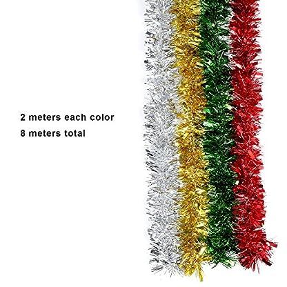 4-Stck-Weihnachten-Lametta-Glnzend-Lametta-Girlande-fr-Urlaub-Dekoration-4-Farben-8-Meter-Totally