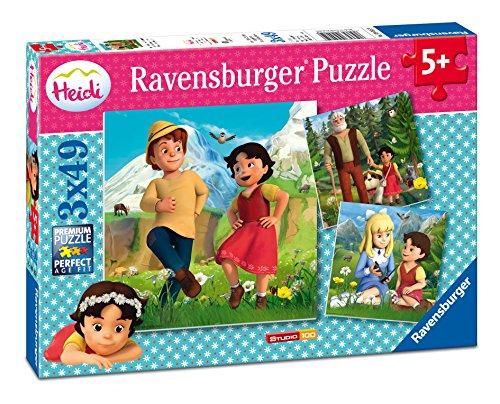 Ravensburger-09405-Heidi-und-ihre-Freunde-Puzzle-bunt