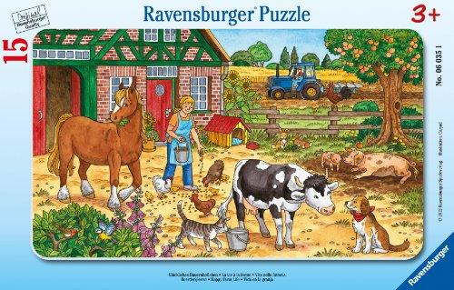 Ravensburger-06035-Glckliches-Bauernhofleben