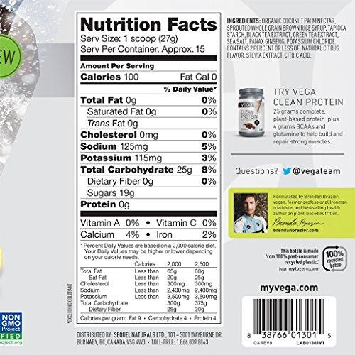 Vega Clean Energy – 15 serv, Citrus Iced Tea, 408 g