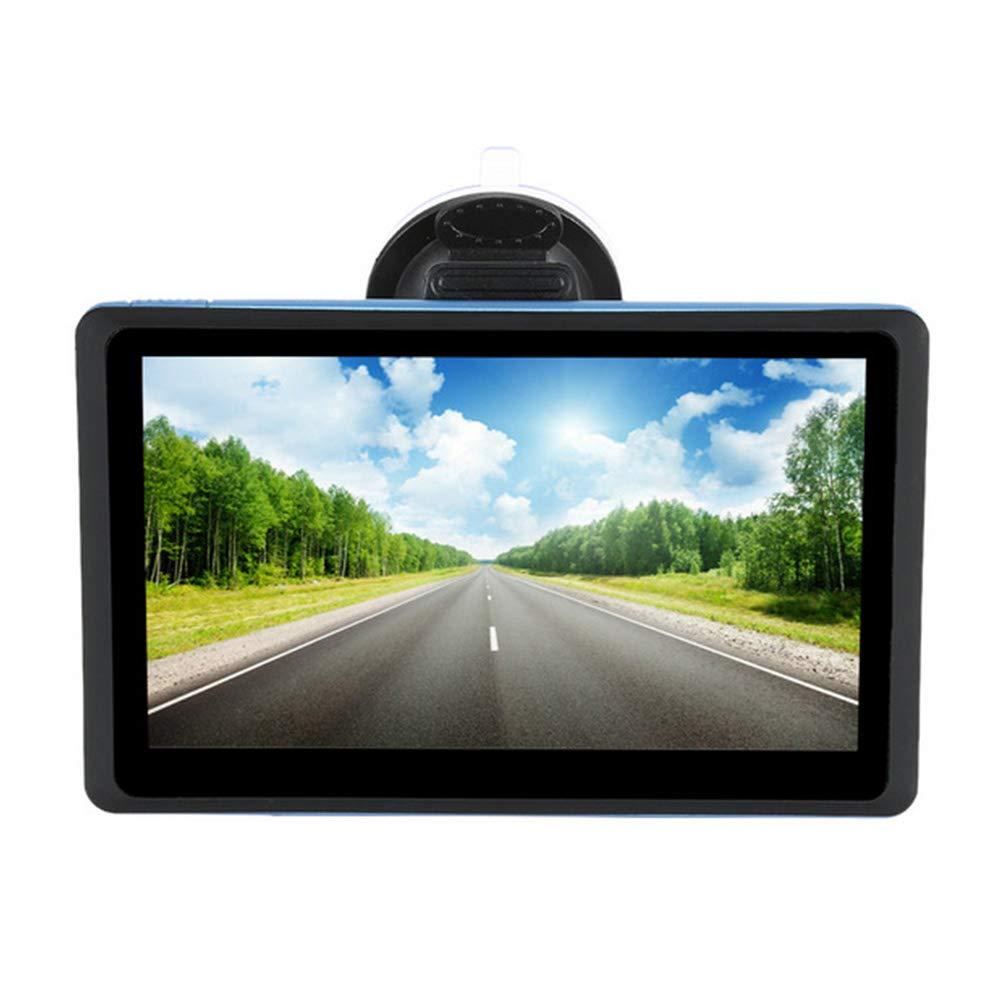 7-Zoll-Auto-HD-GPS-Navigation-Multimedia-Free-Map-Schwarz-Touchscreen-Gert-Untersttzung-FM-Transmitter-MP3-MP4-Player-Movie-Player-Rechner