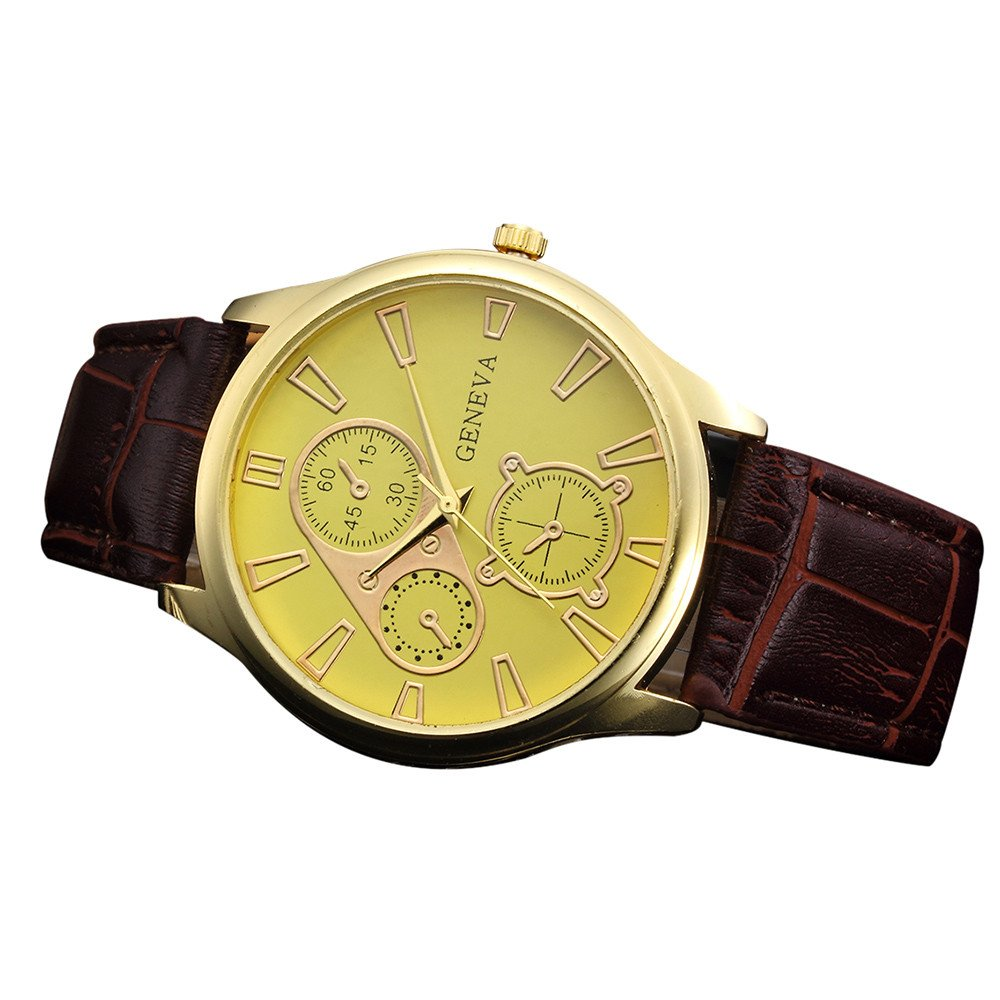 Lolamber-Armbanduhr-fr-Herren-Damen-Echtleder-Uhr-Armband-Mnner-Analog-Quarz-Geschfts-Klassisch-Analog-Quarz-Dnn-Armbanduhr-Gents-Elegant-Uhr-mit-Schwarz-Zifferblat
