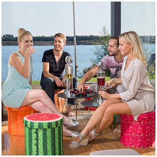 Relaxdays-Getrnkespender-Zapfsule-900-ml-Bar-Butler-US-Style-verchromt-als-Schnapsspender-oder-Bierspender-mit-Zapfanlage-und-56-cm-Bier-Zapfhahn-als-Shot-Spender-fr-Likr-und-Cocktails-silber