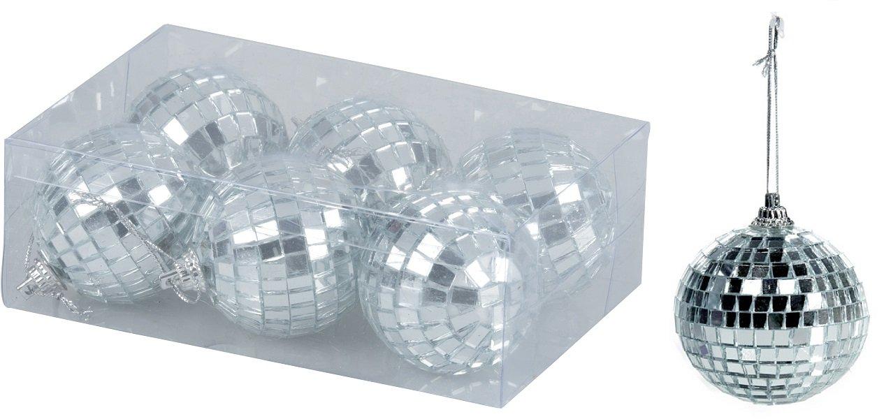 36-Stck-Christbaumschmuck-Spiegelkugel-Diskokugel–5-cm-Discokugel-Partykugel