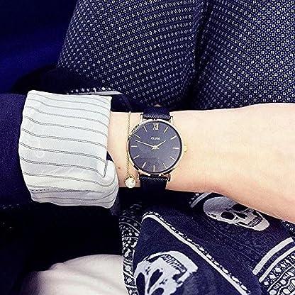 Cluse-Damen-Armbanduhr-Analog-Quarz-Leder-CL30014