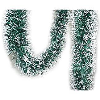 Handel24NET-Tannengirlande-grnwei-ca-10-m-Dekogirlande-Weihnachtsgirlande