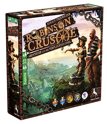 Pegasus-Spiele-51945G-Robinson-Crusoe-Abenteuer-auf-der-Verfluchten-Insel
