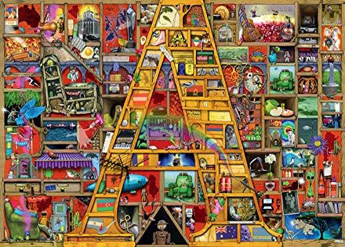 Ravensburger-Colin-Thompson-Atemberaubendes-Alphabet-A-Puzzle-mit-1000-Einzelteilen
