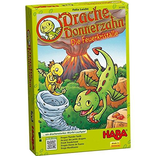 Haba-301890-Drache-Donnerzahn-Spiel