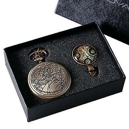 yisuya-Retro-Doctor-Who-Silber-Taschenuhr-mit-Silber-Halskette-Kette-Anhnger-Geschenk-Box