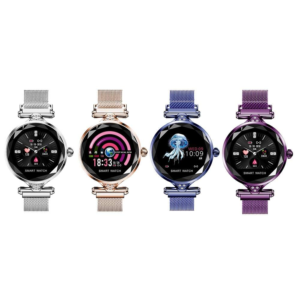 Little-Fairy-Fang-H1-Smart-Watch-IP67-Waterproof-Fitness-Tracker-Bluetooth-Heart-Rate-Blood-Pressure-Monitoring-104-Inch-IPS-HD-Color-Screen-Bracelet-Watch-for-iPhone-Android-Women