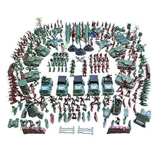 Baoblaze-519-Stck-Plastik-4cm-Soldat-Figuren-Modell-Armee-Kampf-Spielset-Geschenk-fr-Kinder