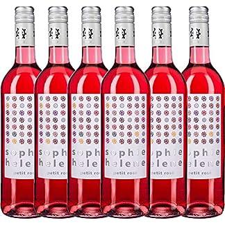 6er-Paket-Sophie-Helene-petit-Ros-trocken-2017-Weingut-Hammel-trockener-Roswein-deutscher-Sommerwein-aus-der-Pfalz-6-x-075-Liter