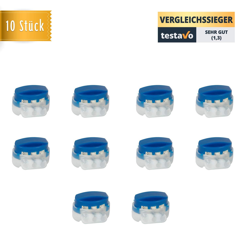 10x-KabelklemmenKabelverbinder-mit-Gel-bzw-Fett-Fllung-extra-wasserdicht-und-witterungsbestndig-Perfekt-geeignet-fr-Garten-Outdoor-und-Rasenroboter-10-Stck