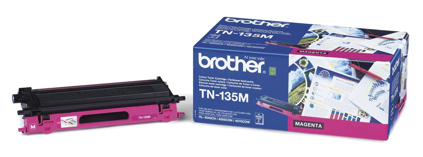 brother-Lasertoner-TN-135MTN135M-magenta-Inh4000