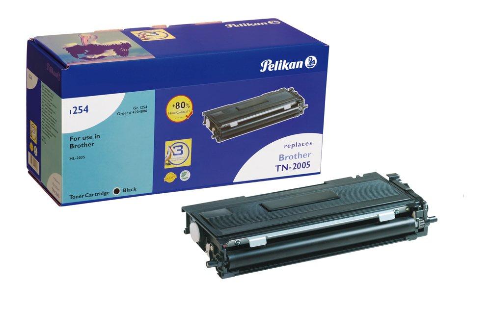 Pelikan-Toner-Modul-1254-ersetzt-Brother-TN-2005-Schwarz-2700-Seiten