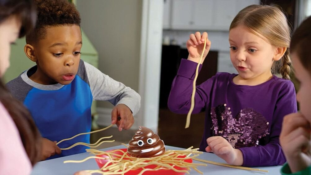 Who-Let-The-Poo-Poo-Fall-Nudeln-Trap-Tischspiel-Familie-Strategie-Spiele-Upxiang-Desktop-Spiel-Nudeln-Spaghetti-Balance-Desktop-Kinder-Spielzeug-Party-Game