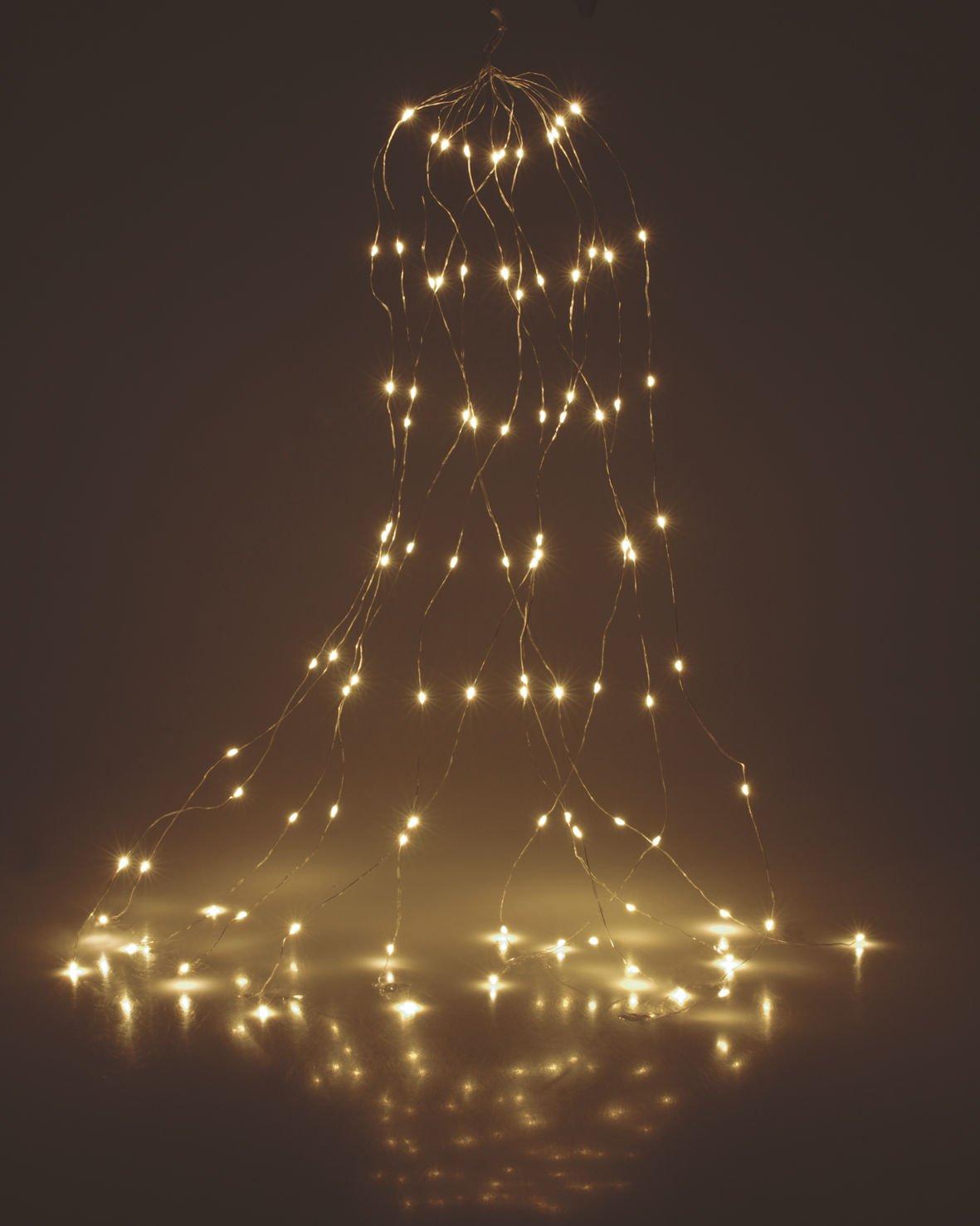 Draht-Lichterbndel-300-LED-warmwei-10×30-LED-3m-Micro-Lichterkette-Leuchtdraht-Auen