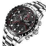 Herren-Uhren-Mode-Mnner-Militr-Chronographen-Sport-Wasserdicht-Uhr-Datum-Kalender-Luxus-Armbanduhr-Einzigartig-Cooles-Design-Geschfts-Beilufig-Stoppuhr-Analog-Uhr-mit-Schwarz-Zifferblatt-Silber