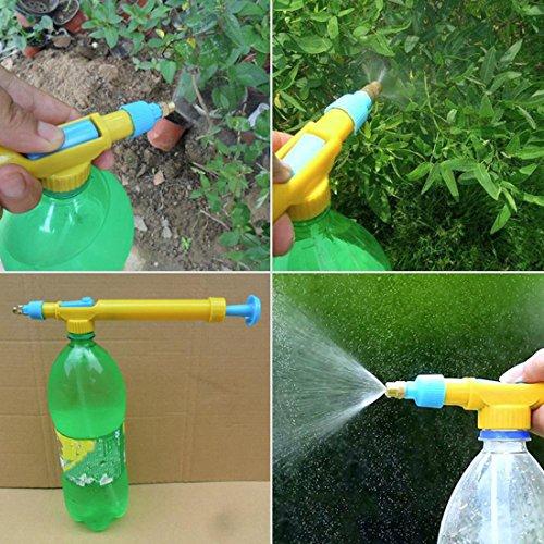 Mini-Saftflaschen-Interface-Kunststoff-Trolley-Gun-Sprayer-Kopf-Wasserdruck