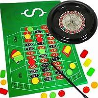 German-Trendseller-Roulette-Spiel-NEU–Komplett-Set-mit-Roulettrad–Casino–Las-Vegas–Glcksspiel–Party-Spiel