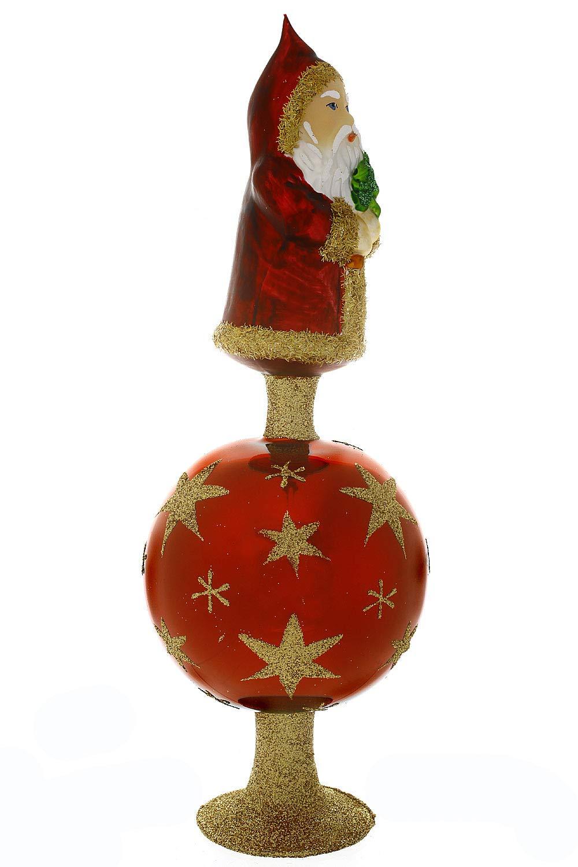 Hamburger-Weihnachtskontor-Christbaumschmuck-Christbaumspitze-Hier-kommt-Santa