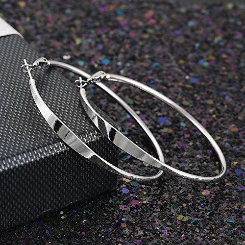 XUPING Schmuck New Arrival Platinum Creolen Schmuck Geschenk für Mode Frauen Y22