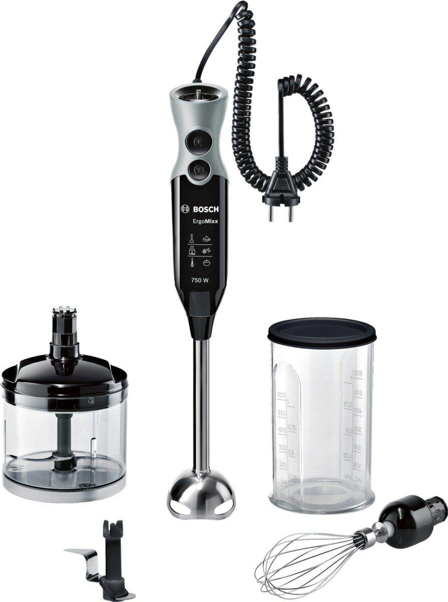 Bosch-MSM67170-Stabmixer-750-Watt-Edelstahl-Mixfu-Ice-Crush-Messer-Plastik-SchwarzWindow-Grey