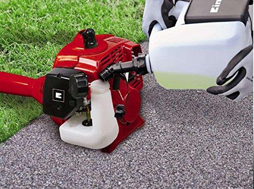 Einhell-Benzin-Sense-GC-BC-25-AS-08-kW-vibrationsarmer-2-Takt-Motor-Quick-Start-inkl-3-Zahn-Messer-und-Doppelfadenspule-mit-Tippautomatik
