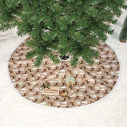 HSKB-Weihnachtsbaumrock-Weihnachtsbaum-Rock-Weihnachtsbaumdecke-Baumdecke-Christbaumstnder-Decke-Weihnachtsdeko-80cm-Passt-alle-Baumgre-Feiertags-Party-Dekoration