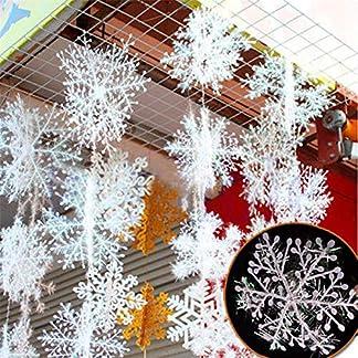 drawihi-9-Teile-Weie-Schneeflocken-Weihnachten-Dekorationen-Weihnachten-Lieferungen-hngen-Kristallanhngern-Baum-15-cm