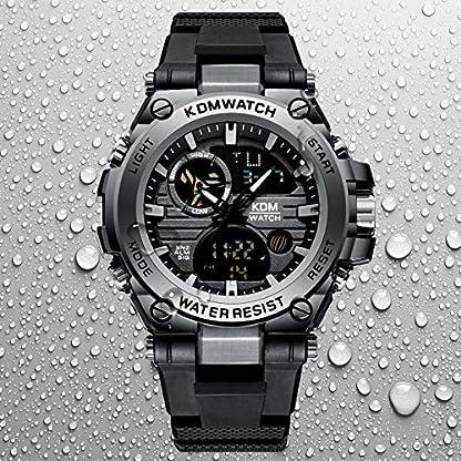 Herren-Uhren-Mnner-Digital-Analog-Sportuhren-Wasserdichte-LED-Militr-Groes-Digitaluhr-mit-Stoppuhr-Herren-Armee-Chronograph-Multifunktions-Armbanduhr-mit-Schwarzem-Gummi