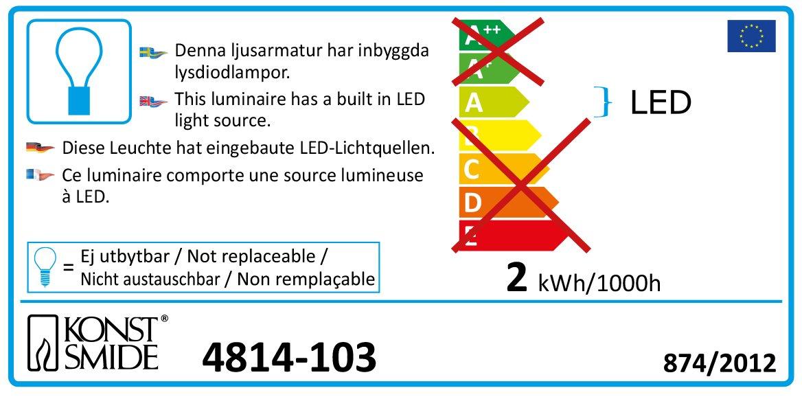 LED-Hightech-System-schwarzes-Kabel-31V