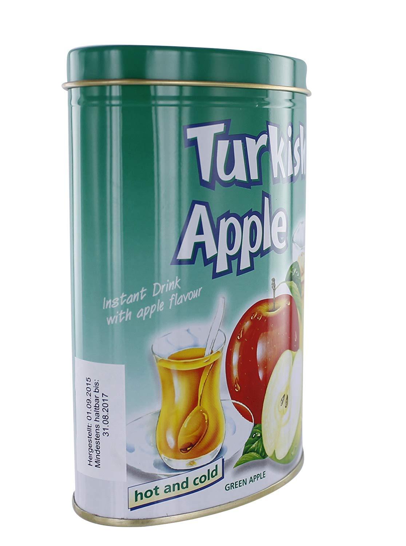 Trkischer-Apfel-Instantgetrnk-mit-Apfelgeschmack-grn-300g-in-Dose-Instantpulver-Ottoman