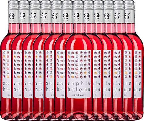 12er-Paket-Sophie-Helene-petit-Ros-trocken-2017-Weingut-Hammel-trockener-Roswein-deutscher-Sommerwein-aus-der-Pfalz-12-x-075-Liter