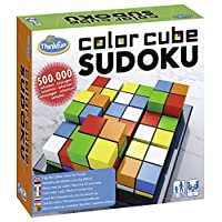 Ravensburger-76342-ThinkFun-Color-Cube-Sudoku-Spiel-Smart-Game