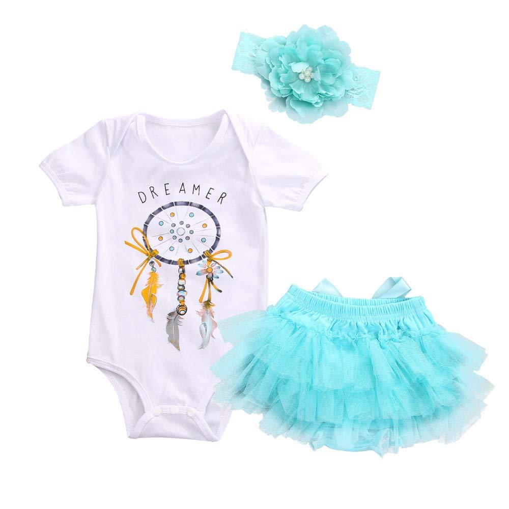 Vectry-Bekleidungssets-Mdchen-Neugeborene-Outfits-Kleidung-Briefdruck-Kurze-rmel-Romper-Tll-Tutu-Rock-Stirnband-3er-Set3M-18M