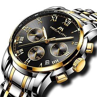 Herren-Edelstahl-Uhren-Mnner-Chronograph-Luxus-Design-Wasserdicht-Datum-Kalender-Armbanduhr-Geschfts-Beilufig-Mode-Kleid-Sport-Analog-Quarz-Uhr