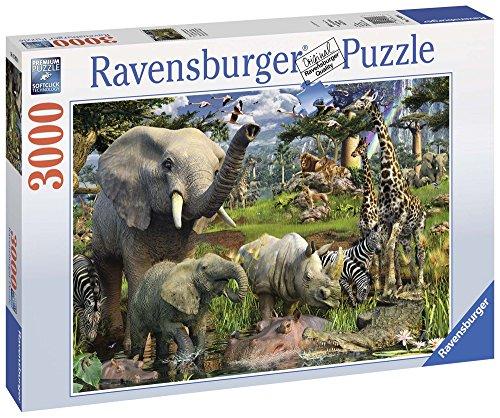 Ravensburger-17070-Tiere-an-der-Wasserstelle