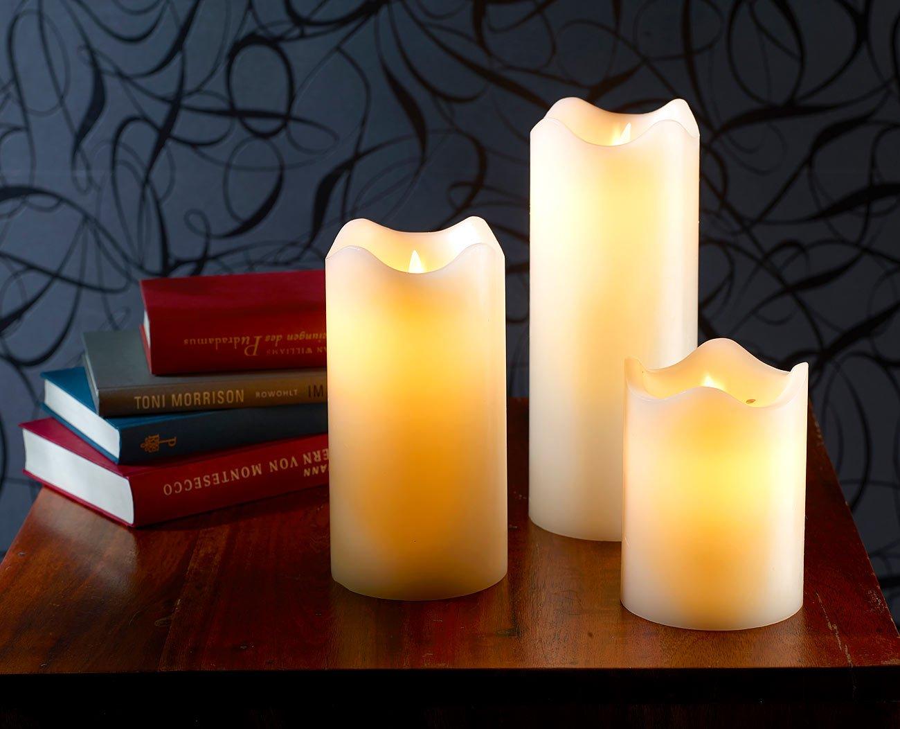 Britesta-Elektro-Kerzen-LED-Echtwachskerze-mit-beweglicher-Flamme-23-cm-hoch-Kerzen-LED