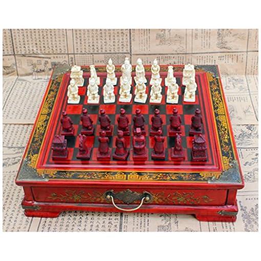 Sharplace-Holz-Chinesisches-Klappbares-Schachspiel-Set-als-Geschenk-Oder-Sammlung