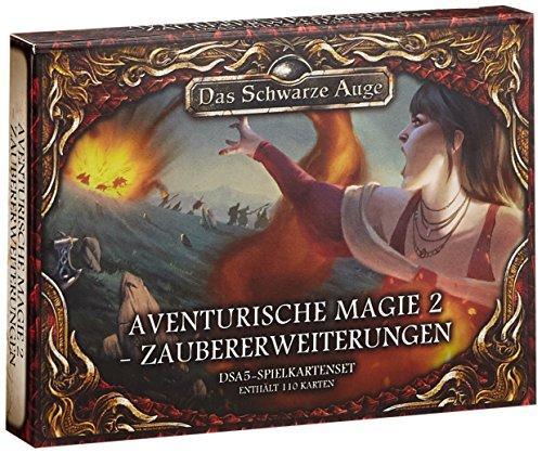 DSA5-Spielkartenset-Aventurische-Magie-2-Zaubererweiterungen-Das-Schwarze-Auge-Zubehr