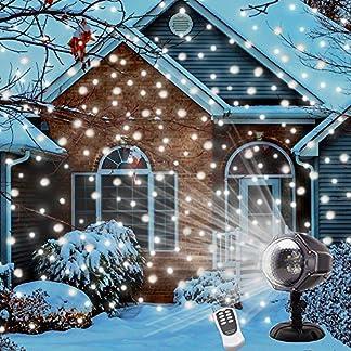 LED-Schneeflocke-Projektior-Lypumso-LED-Projektor-Weihnachten-mit-Fernbedienung-Stimmungsbeleuchtung-Schneefall-Lichteffekt-fr-Feiertag-Dekoration-EU-Stecker