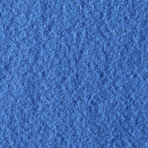 Filzplatte 30 x 45 cm x 2,0 mm Blau