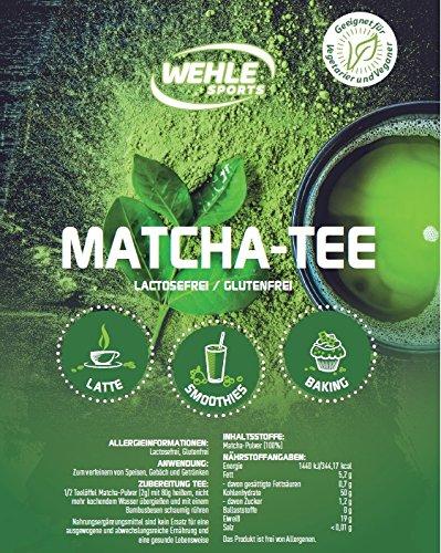 Matcha-Tee-Pulver-Grntee-Pulver-fr-Matcha-Latte-Matcha-Smoothies-Matcha-Getrnk-Wehle-Sports-wiederverschliebarer-Beutel-mit-100g-Matcha-Pulver-Premium-Qualitt-aus-Japan